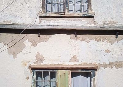 After restoration to casements