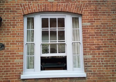 Completed bay window in Dulux Ultimate satin finish