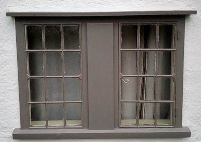 Fully restored and painted window