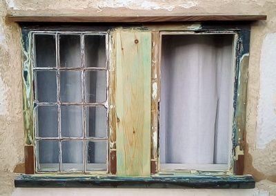 Lower window restoration completed