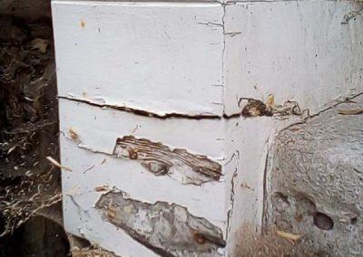 Pillar before any restoration