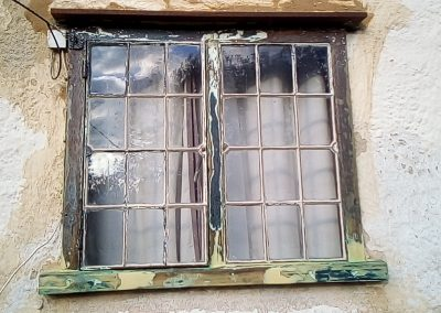 Upper Georgian window restored